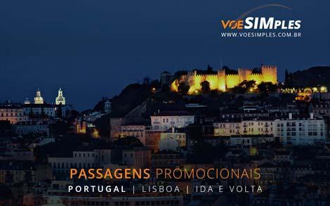 Passagem aérea econômica com voo direto para Lisboa