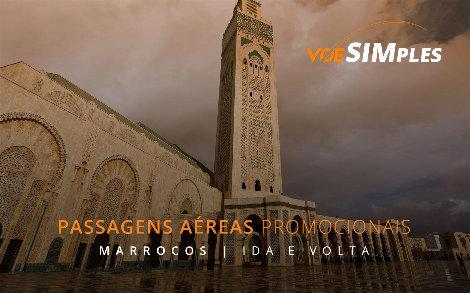 Passagens aéreas promocionais para Casablanca no Marrocos