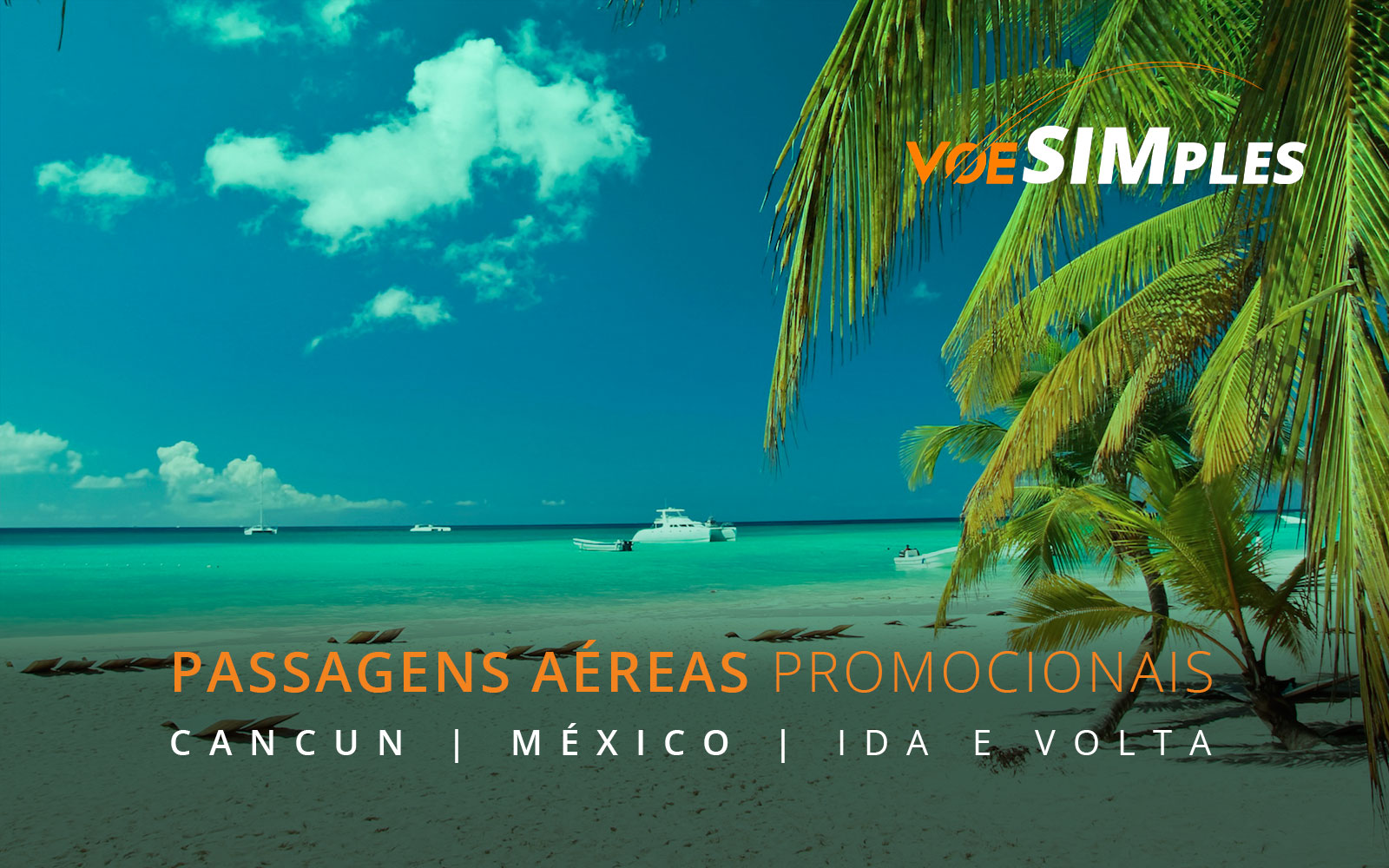Passagens aéreas promocionais para Cancun no México