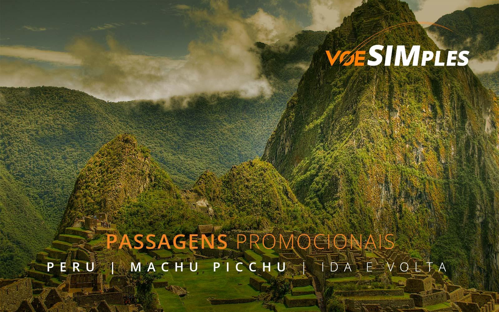 Passagens aéreas promocionais para Lima e Cusco no Peru