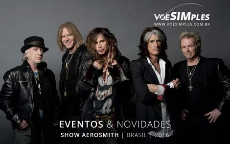 Show Aerosmith Brasil 2016
