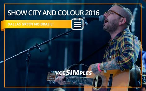 Show City and Colour Brasil 2016