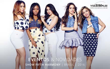 Show Fifth Harmony Brasil 2016