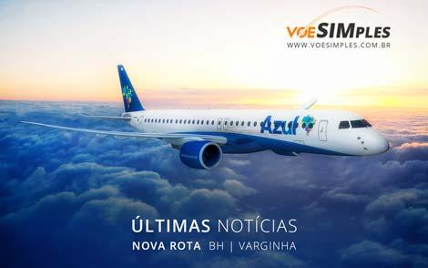 Nova rota Azul para Varginha